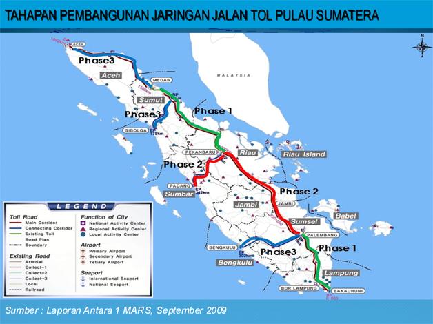 Penetapan Lokasi Jalan Tol Sumatera (JTS) Sudah Ditetapkan ...