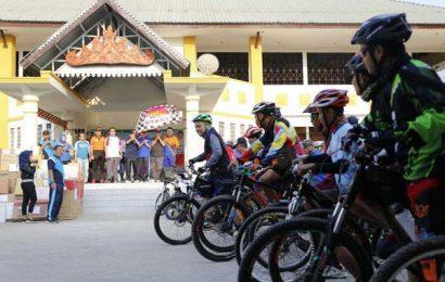 Dishub Lampung Gelar Gowes Sepeda 14 KM