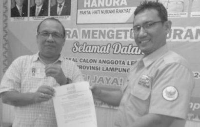 Hanura Lampung Perpanjang Pendaftaran Bacaleg
