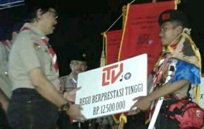 Pramuka SMPN 1 Trimurjo Juara I Lomba Regu Nasional