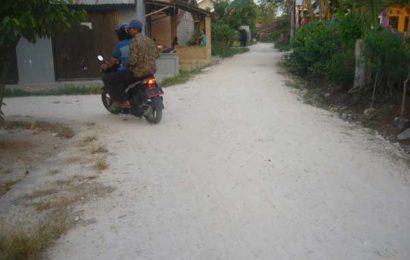 Onderlagh Dana Desa Merak Batin Ditengarai Rugikan Negara