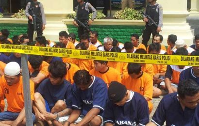 Operasi Sikat, Polda Tangkap Ratusan Pelaku Kejahatan
