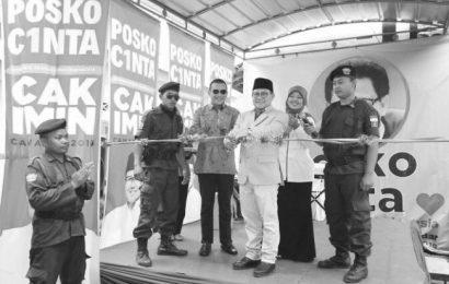 Cak Imin Resmika Posko Cinta Pertama Di Lampung