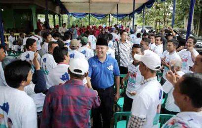 Ridho Siap Bangkitkan Kejayaan Petambak Udang di Lampung