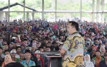 Kembali Menjabat, Ridho-Bachtiar Kunjungi Masyarakat Lamteng dan Mesuji