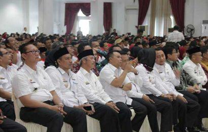 Sujadi Hadiri Launching Peningkatan Aparatur Pemerintahan Desa