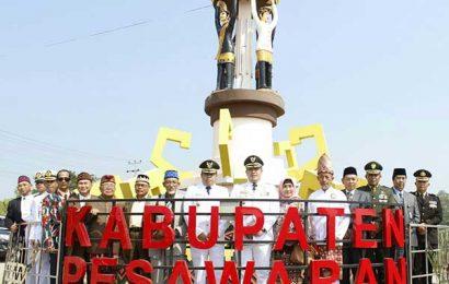 HUT ke-11 Kabupaten Pesawaran Berjalan Meriah