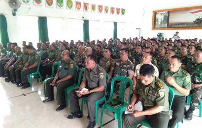 75 Anggota TNI Tanggamus Negatif Narkoba