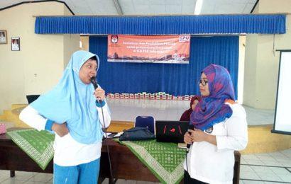 KPU Bandarlampung Helat Simulasi Pemungutan Suara