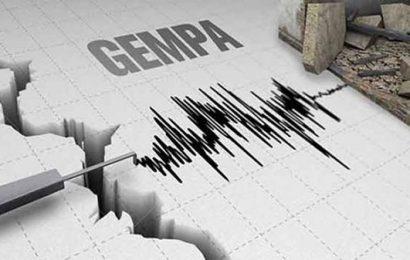 Gempa 3,9 SR Guncang Pesawaran