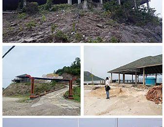 Pembangunan Fasilitas Pantai  Ringgung Diduga tak Berizin